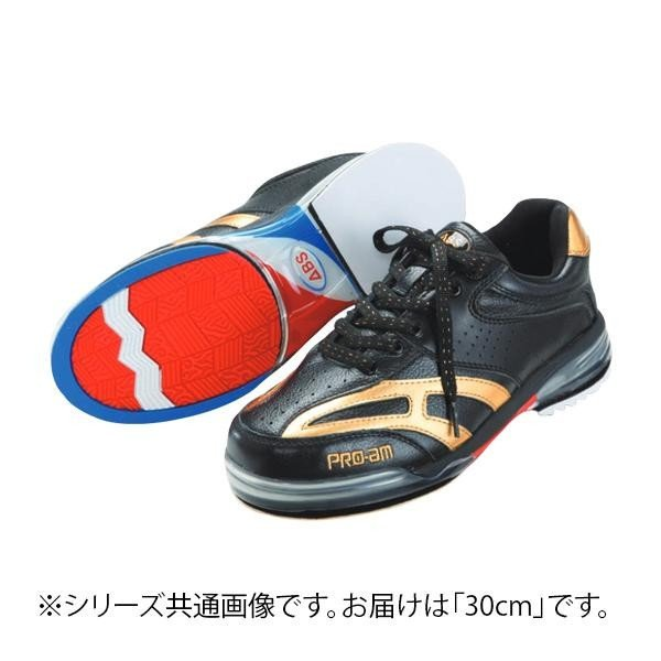 ファッションなデザイン ABS ボウリングシューズ ABS CLASSIC 左右兼用 ブラック・ゴールド 30cm, 新到着:2f3a137f --- airmodconsu.dominiotemporario.com