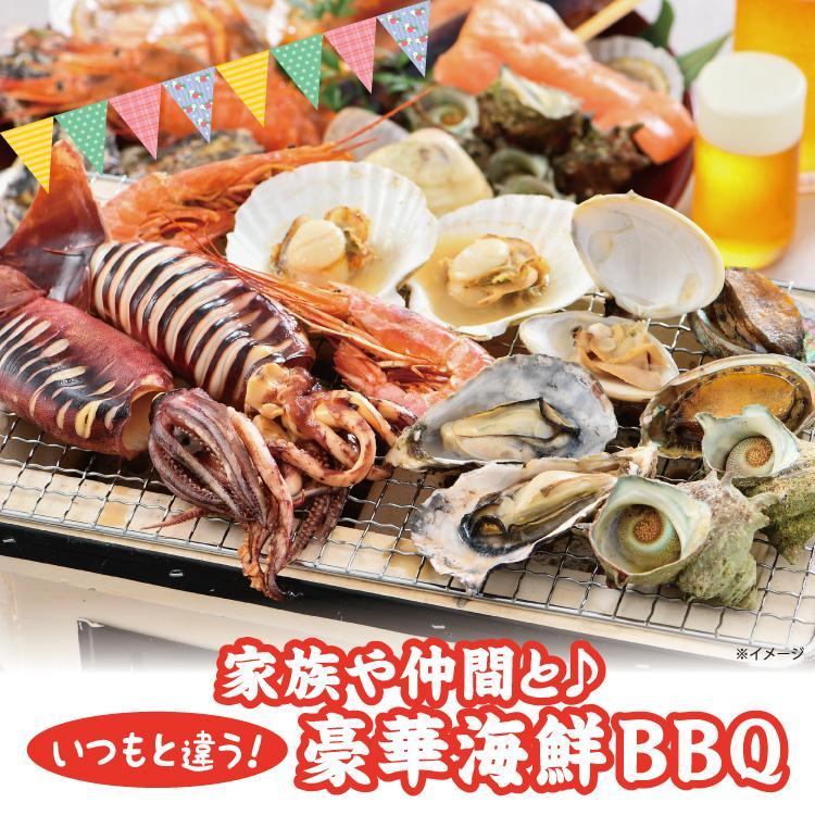 バーベキューセット F 海鮮 BBQセット 3種15品 2〜3人前【冷凍便】|sakudaya|02