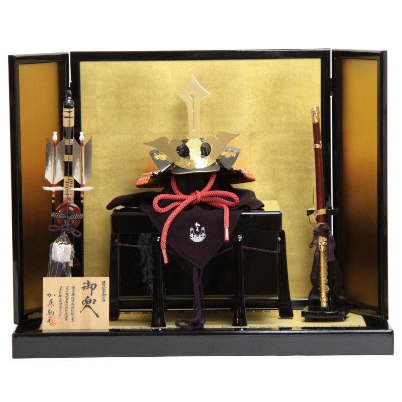 五月人形 アウトレット 兜平飾り 豊臣秀吉 195to1060 加藤鞆美