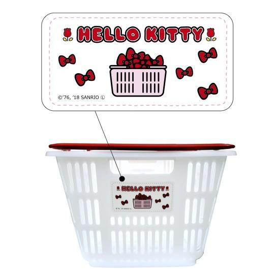 ハローキティ マイバスケット33L  景品 粗品 kttiy スーパー カゴ エコバッグ 買い物カゴ レジカゴ 日本製|sakuranboya|03