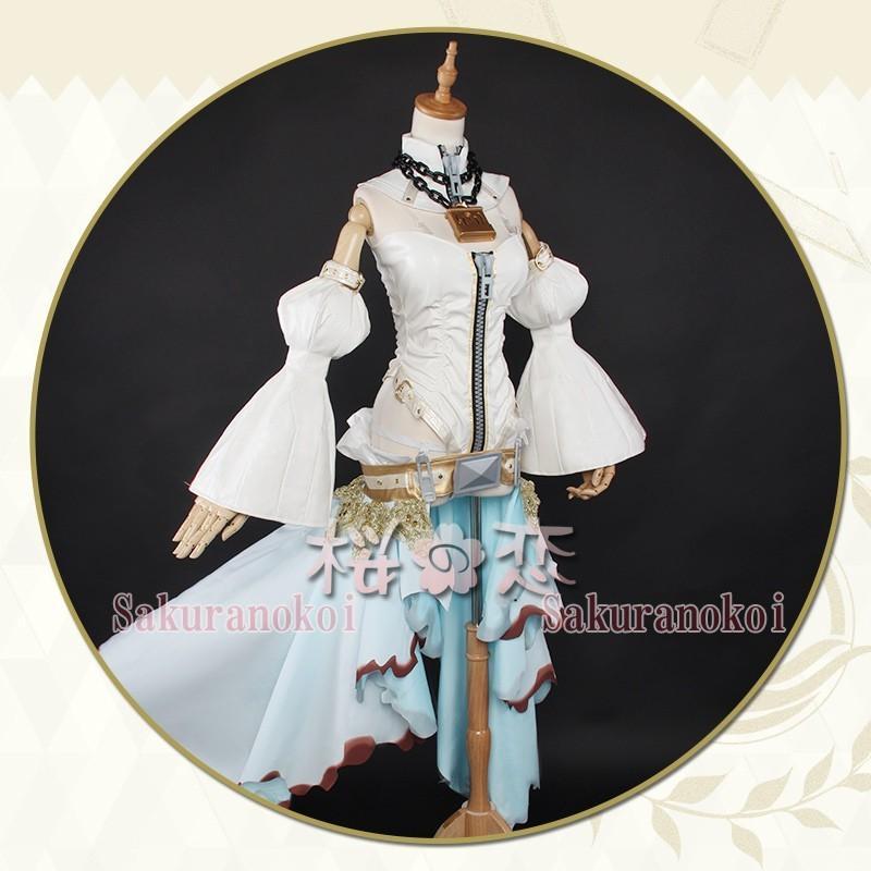 Fate Grand Order コスプレ 花嫁衣装 風 ネロ・クラウディウス 風コスプレ衣装 FGO コスチュームuw486
