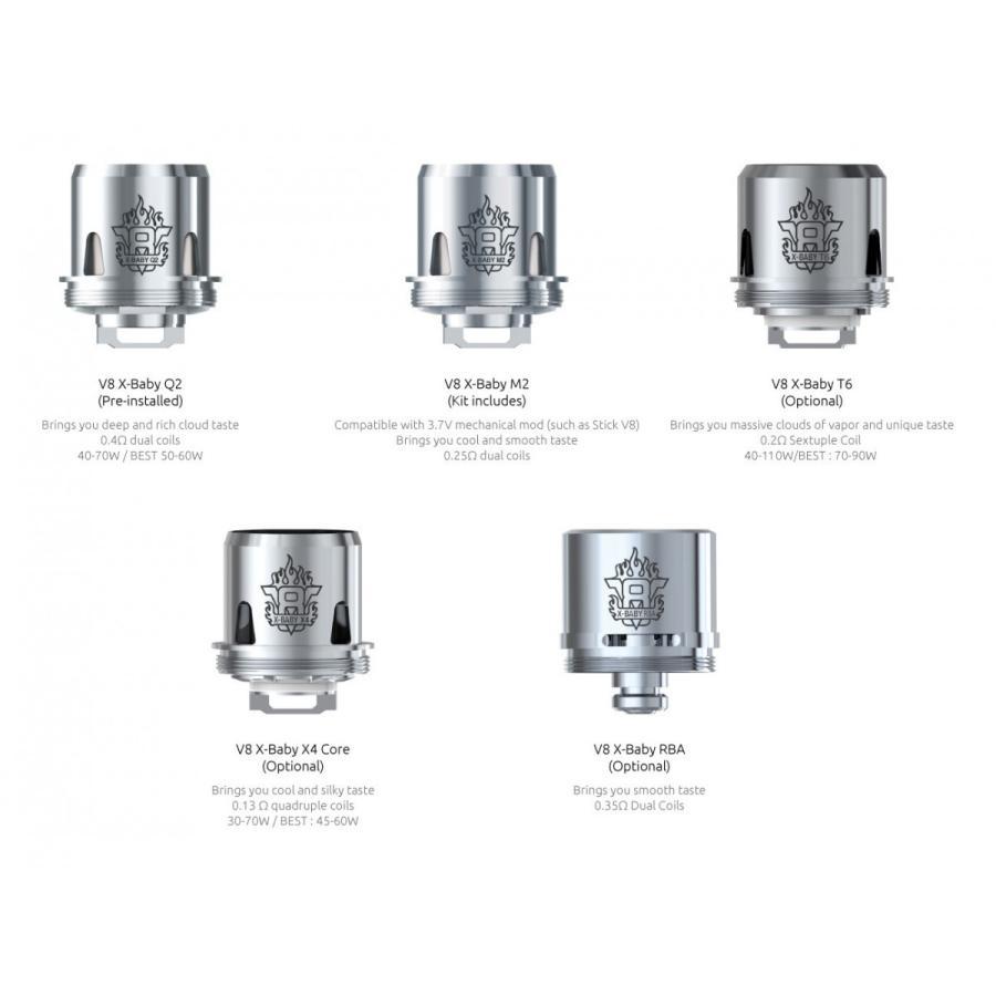 pack X3 coil SMOK TFV8  V8 X   Q2 T6 M2