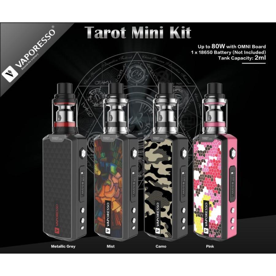Vaporesso Tarot Mini Kit タロットミニ 小型でスリム!セラミックコイル付属|sakuravapor