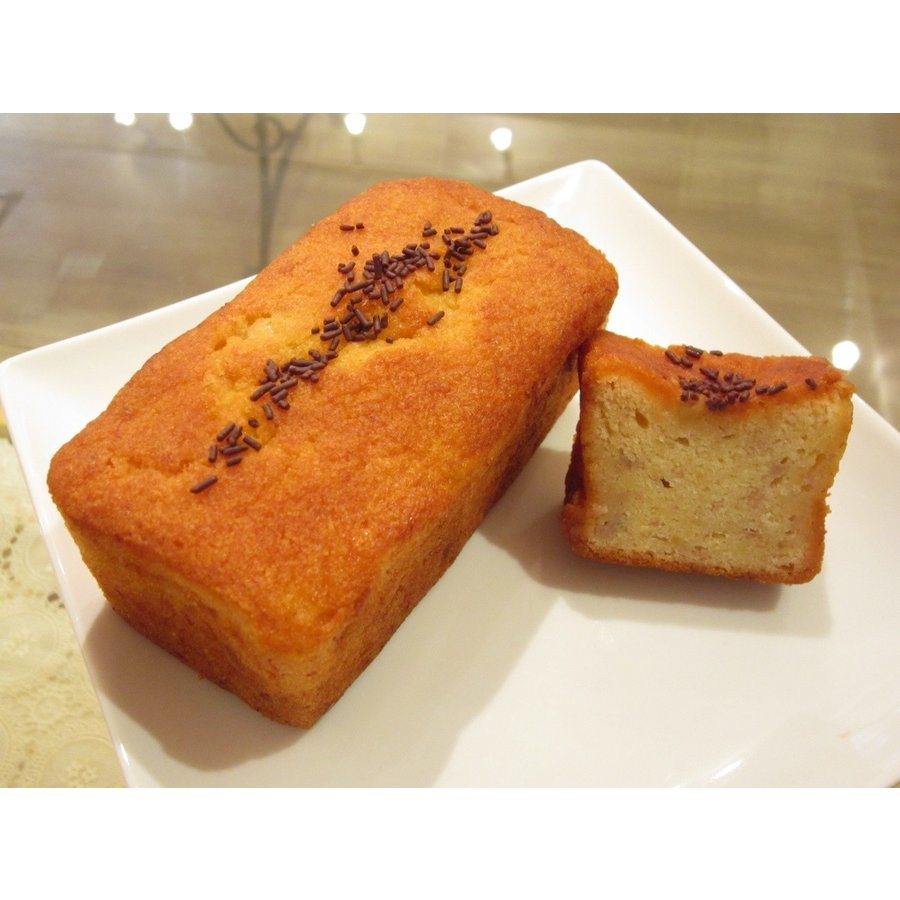 『キャラメルバナナのケーキ』パウンドケーキ ちょっと贅沢だけど、できるだけナチュラルで安心な素材だけで手作りした焼き菓子|sakurayamakabo