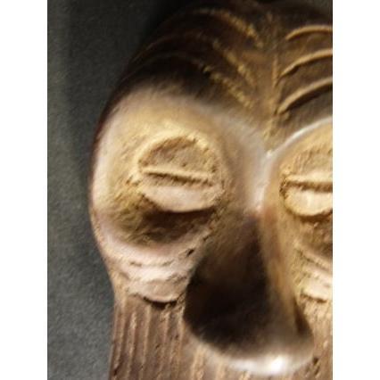 クバ族?パスポートマスク/アフリカ/アンティーク/マスク/木彫り/彫刻/木彫品/仮面/民族/ハンドメイド/翌日発送 salama-africa 02