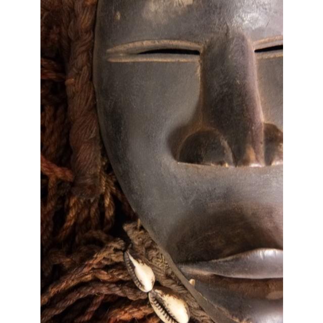 ダンマスク/アフリカ/アンティーク/マスク/木彫り/彫刻/木彫品/仮面/民族/ハンドメイド/翌日発送|salama-africa|02