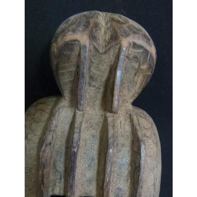 ドゴンマスク/アフリカ/アンティーク/マスク/木彫り/彫刻/木彫品/仮面/民族/ハンドメイド/翌日発送 salama-africa 02