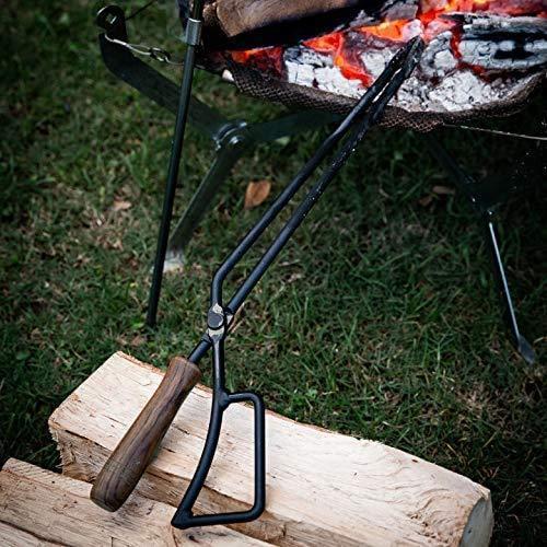TEOGONIA/テオゴニア Fireplace Tongs/ファイヤープレーストング【63495】バーベキュー 炭ばさみ 薪ばさみ sallow 05