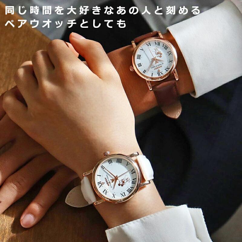 【決算SALE】【半額以下!74%OFF】ディズニー グッズ ミッキーマウス ミッキー 腕時計 メンズ レディース ユニセックス 本革 ベルト 革 新作 ミッキー時計 salon-de-kobe 13