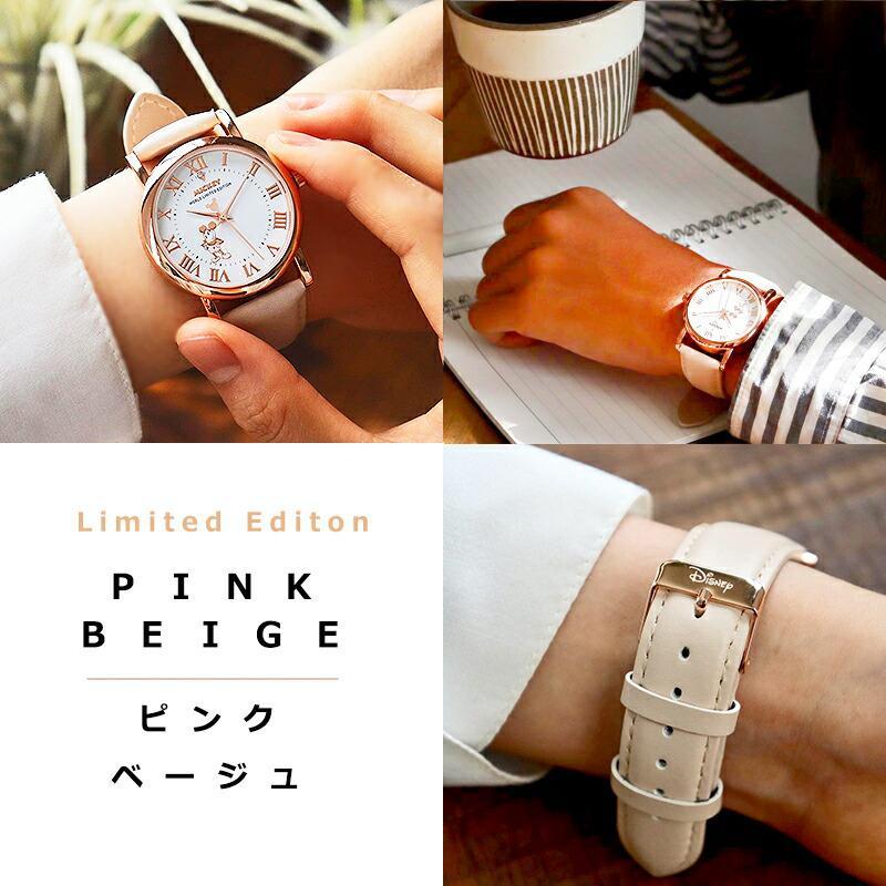 【決算SALE】【半額以下!74%OFF】ディズニー グッズ ミッキーマウス ミッキー 腕時計 メンズ レディース ユニセックス 本革 ベルト 革 新作 ミッキー時計 salon-de-kobe 19