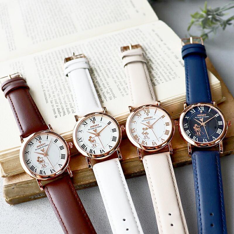 【決算SALE】【半額以下!74%OFF】ディズニー グッズ ミッキーマウス ミッキー 腕時計 メンズ レディース ユニセックス 本革 ベルト 革 新作 ミッキー時計 salon-de-kobe 05