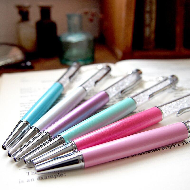 スヌーピー グッズ スワロフスキー ボールペン 名入れ 不可 ペン 筆記用具 チャーム 18金 加工|salon-de-kobe|10