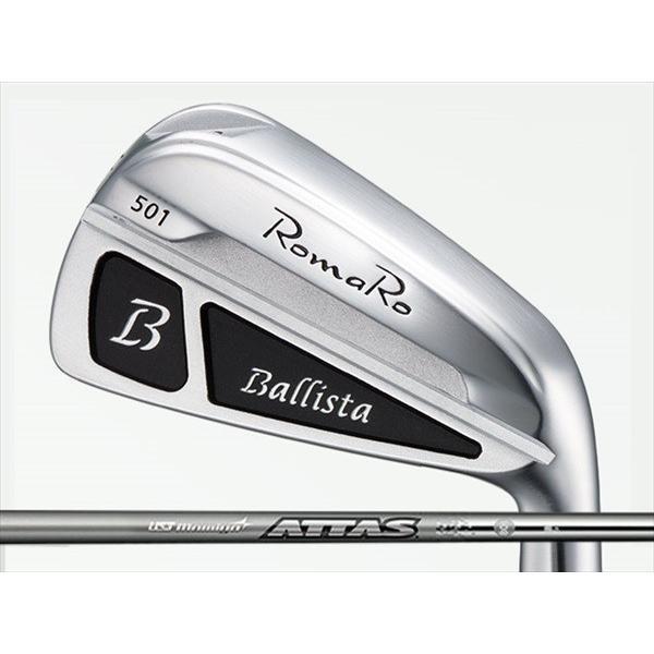 当店だけの限定モデル RomaRo (ロマロ) Ballista 501 アイアン 5-Pw ATTAS IRON 10シャフト, tem fabe96d6