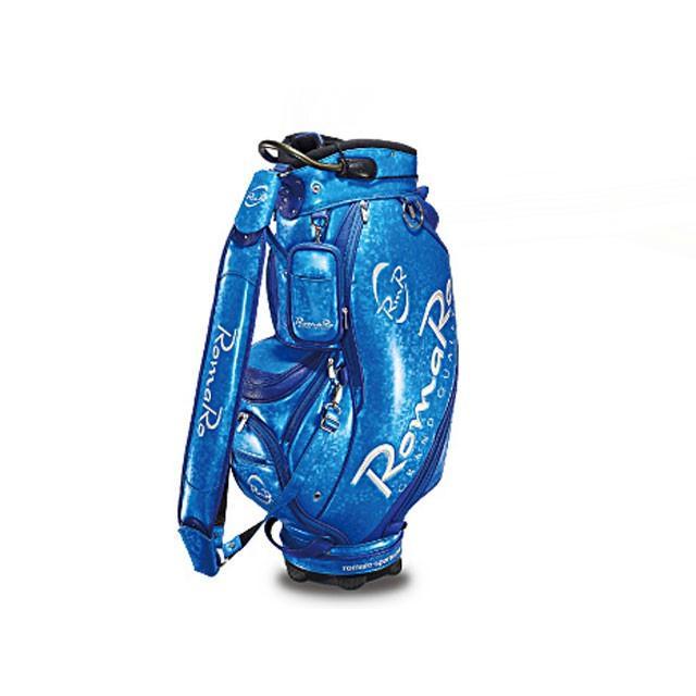 RomaRo (ロマロ) PRO MODEL CADDIE BAG 9.5 ブルー/シルバー