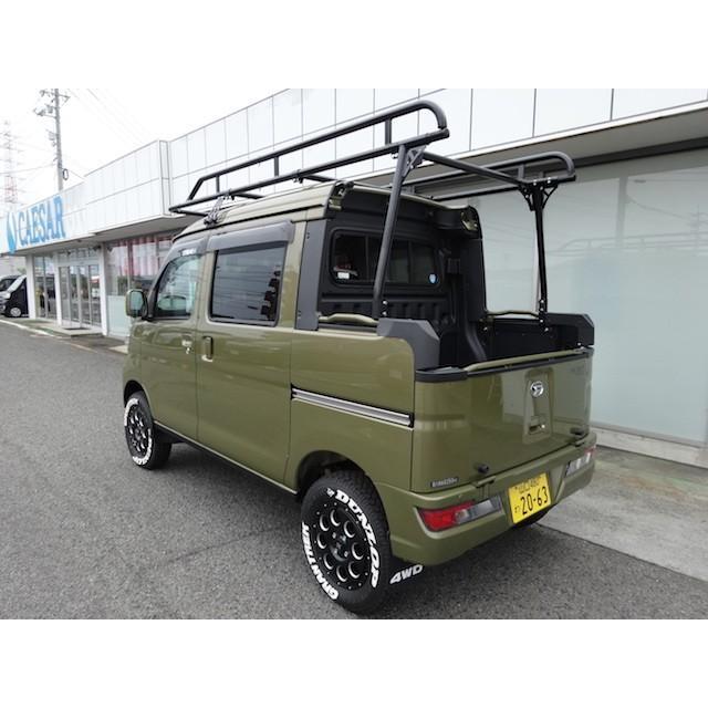ハードカーゴ キャリア 軽トラック ルーフラック ハイゼットデッキバン S321W S331W|samuraipick