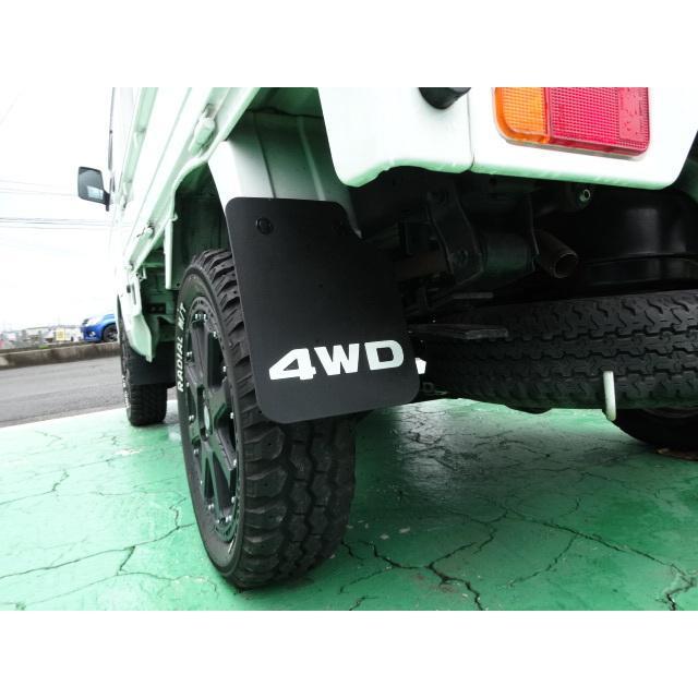 オリジナル 4WD マッドガード 泥よけ キャリイ スクラム ミニキャブ クリッパー|samuraipick
