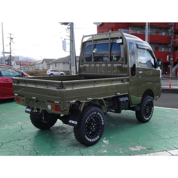 オリジナル 4WD マッドガード フロントリアセット 泥よけ ハイゼットトラック 純正 08411-K5000 S500|samuraipick|04