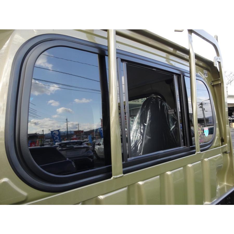 スライドガラス リアガラス 開閉式 ダイハツ ハイゼット エクストラ ジャンボ 500系 samuraipick 02