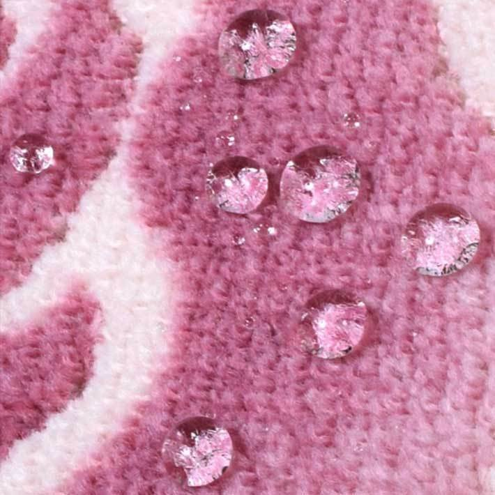 洗える 抗菌・防臭 防滑「ローズ&キャット」トイレマット 単品 65×80cm|san-luna|03