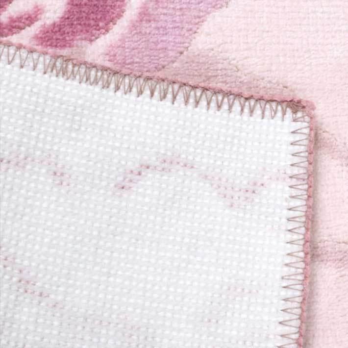 洗える 抗菌・防臭 防滑「ローズ&キャット」トイレマット 単品 65×80cm|san-luna|04