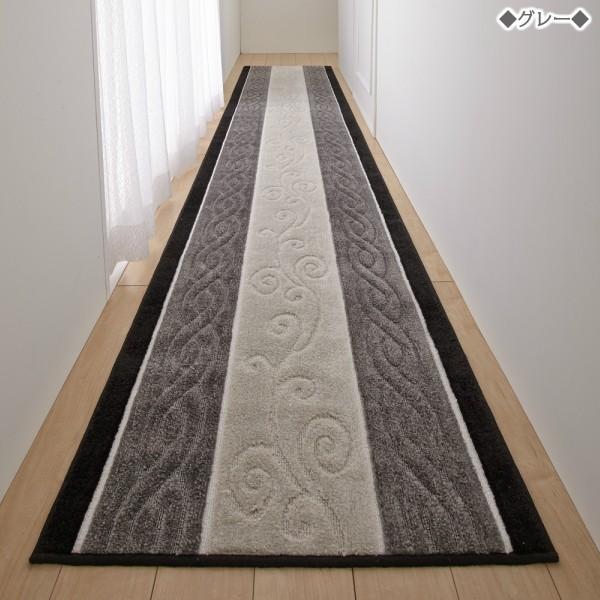廊下用 カーペット 廊下 マット 80cm×540cm 【ステラ】 トルコ製生地使用 日本製|san-luna|03