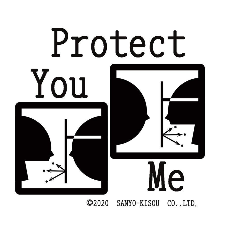 痛くない透明マスク<ダブルクッション> 3個セット クッション材で「あご・顎・アゴ」痛くない サリバガード 飛沫ブロック 日本製|san-smile|06