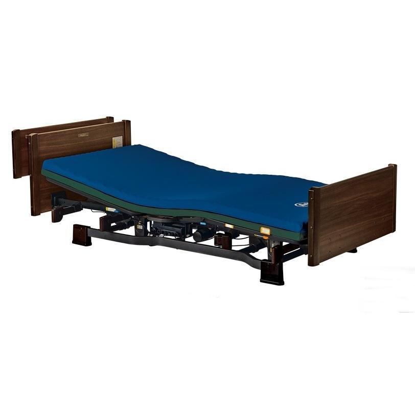 [プラッツ]ミオレット2 介護用3モーターベッド 木製宮付ボード P106-31BF P106-32BF