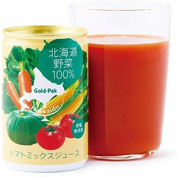 ゴールドパック 北海道野菜100% [機能性表示食品(GABA)] 160g缶×20本入 Gold-Pak|sanchoku-support|02