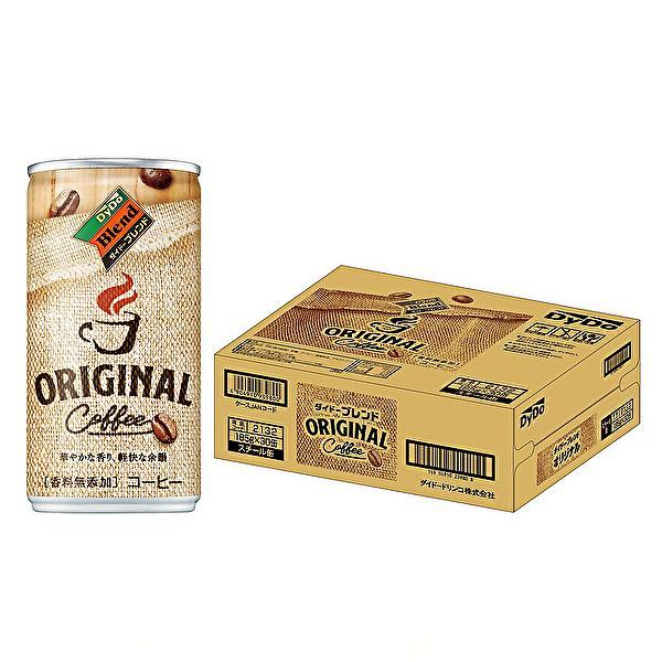 ダイドー ブレンド ブレンドコーヒー オリジナル 185g缶×30本入 DyDo Blend ORIGINAL|sanchoku-support|03
