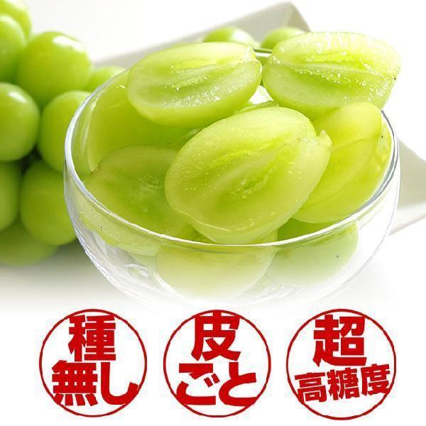長野県より産地直送 JAながの(須高地区)シャインマスカット 約2キロ 3から4房 ぶどう 葡萄 ブドウ sanchokudayori 03