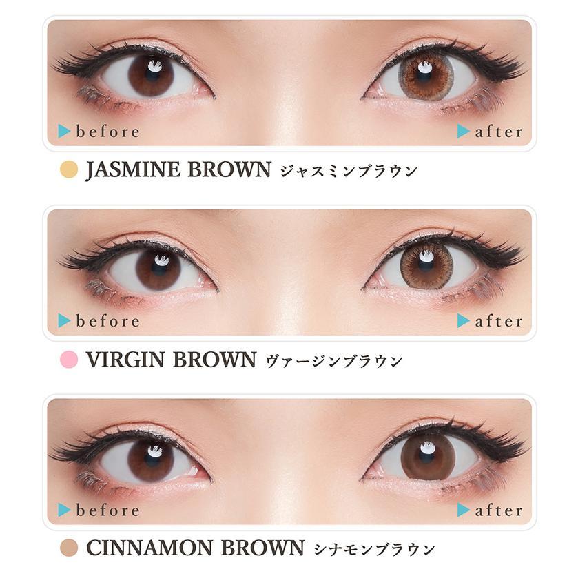 カラコン アイトゥアイ アジアン eye to eye Asian 1ヵ月 度なし 度あり 14.0mm 14.2mm 杉山佳那恵 1箱1枚入り×4箱|sancity-contact|03