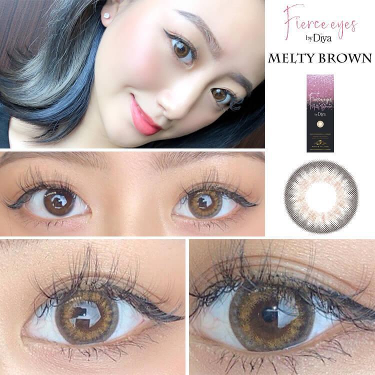 カラコン Fierce eyes by Diya ワンデー 1箱10枚入り パリスヒルトン フィアースアイズbyダイヤ ハーフ系 14.2mm Paris Hilton|sancity-contact|10