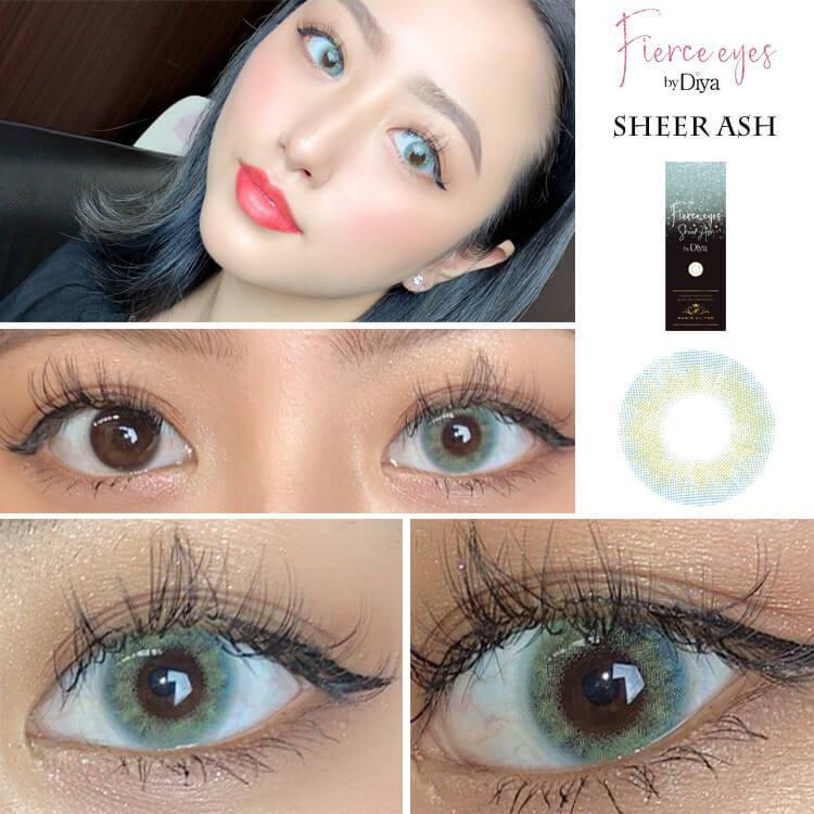 カラコン Fierce eyes by Diya ワンデー 1箱10枚入り パリスヒルトン フィアースアイズbyダイヤ ハーフ系 14.2mm Paris Hilton|sancity-contact|12