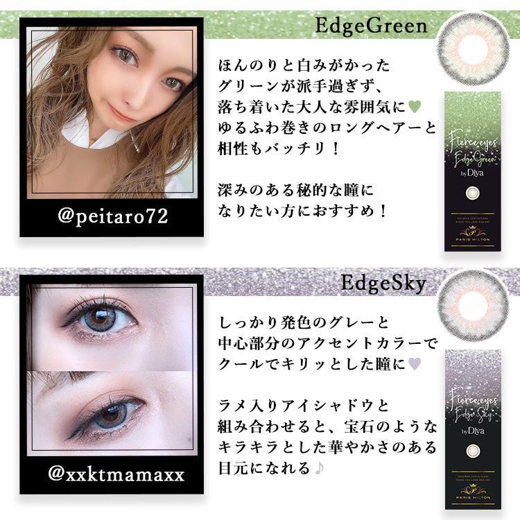 カラコン Fierce eyes by Diya ワンデー 1箱10枚入り パリスヒルトン フィアースアイズbyダイヤ ハーフ系 14.2mm Paris Hilton|sancity-contact|14