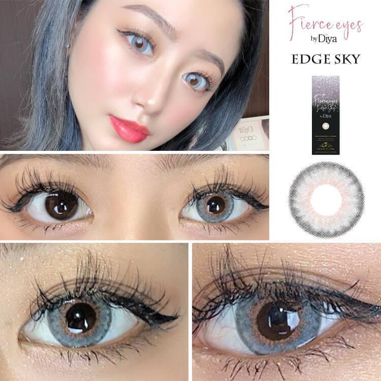 カラコン Fierce eyes by Diya ワンデー 1箱10枚入り パリスヒルトン フィアースアイズbyダイヤ ハーフ系 14.2mm Paris Hilton|sancity-contact|09