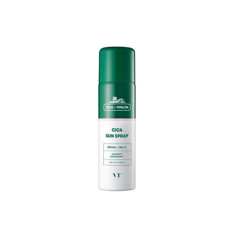 【即日発送】VT Cosmetic サンスプレー 90ml SunSpray 日焼け止め 紫外線対策 SPF50+ PA+++ サラサラ 敏感肌 UVカット スプレータイプ 密着 べたつき テカリ|sancity-contact|06