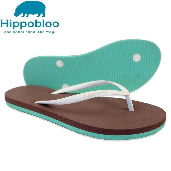 ビーチサンダル マシュマロのように柔らかい天然ゴム 植物由来 ヒッポブルー(hippo bloo) レディース sandals