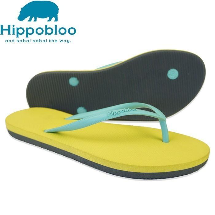 ビーチサンダル マシュマロのように柔らかい天然ゴム 植物由来 ヒッポブルー(hippo bloo) レディース|sandals