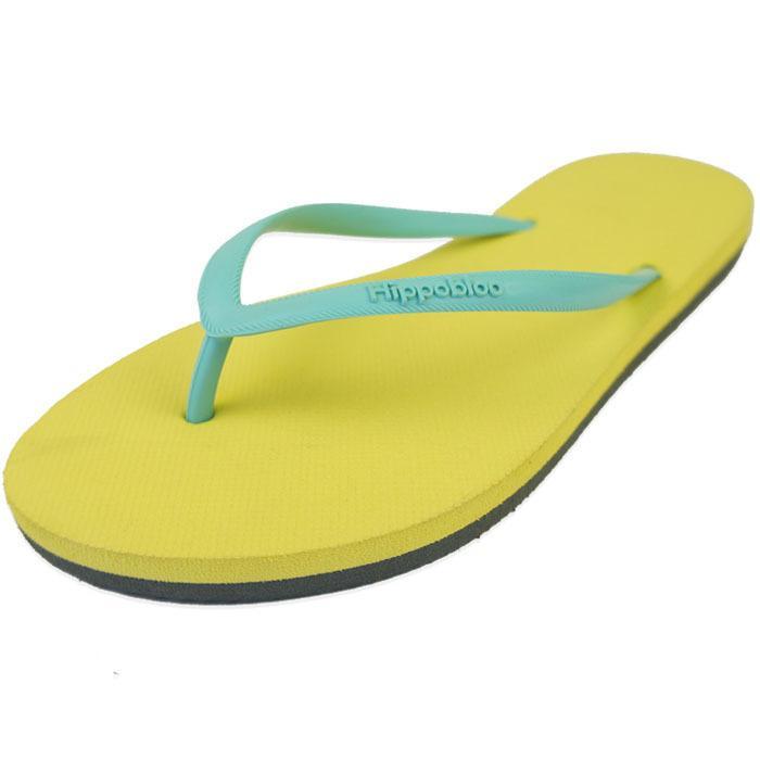 ビーチサンダル マシュマロのように柔らかい天然ゴム 植物由来 ヒッポブルー(hippo bloo) レディース|sandals|02