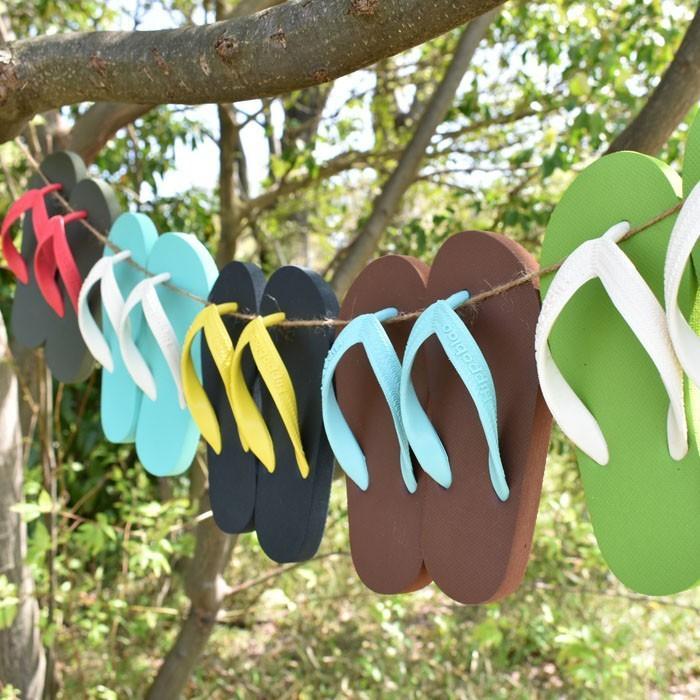 ビーチサンダル マシュマロのように柔らかい天然ゴム 植物由来 ヒッポブルー(hippo bloo) キッズ|sandals|03