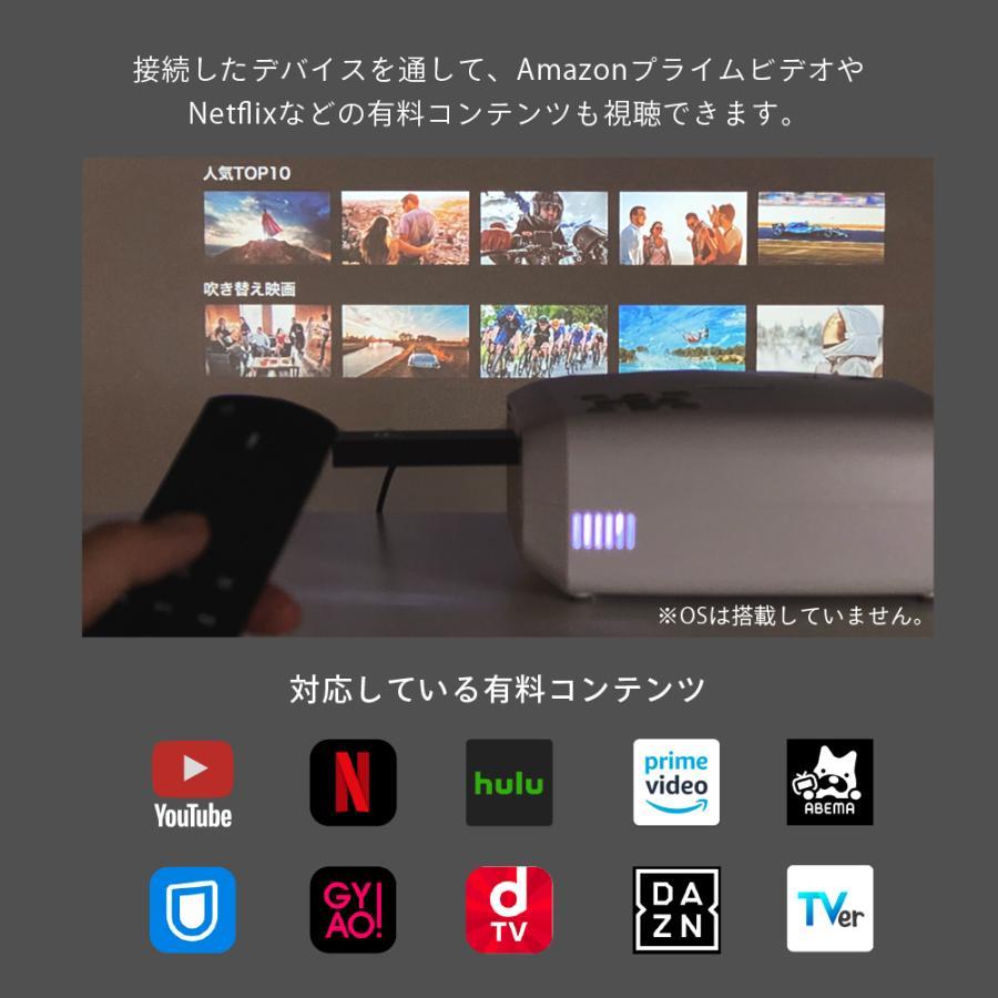 プロジェクター 小型 本体 家庭用 ビジネス モバイル 安い 高画質 3300ルーメン 自動台形補正 スマホ iPhone PC HDMI FunLogy HOME|sandlot-books|06