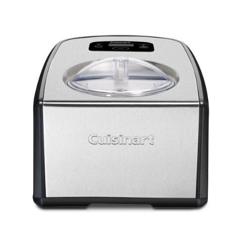 Cuisinart ICE-100 コンプレッサー アイスクリームとジェラートメーカー シルバー 1-1/2クォート
