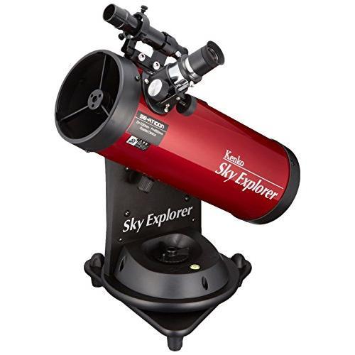 Kenko 天体望遠鏡 Sky Explore SE-AT100N RD 反射式 口径100mm 焦点距離450mm 卓上型 自動追尾機能付