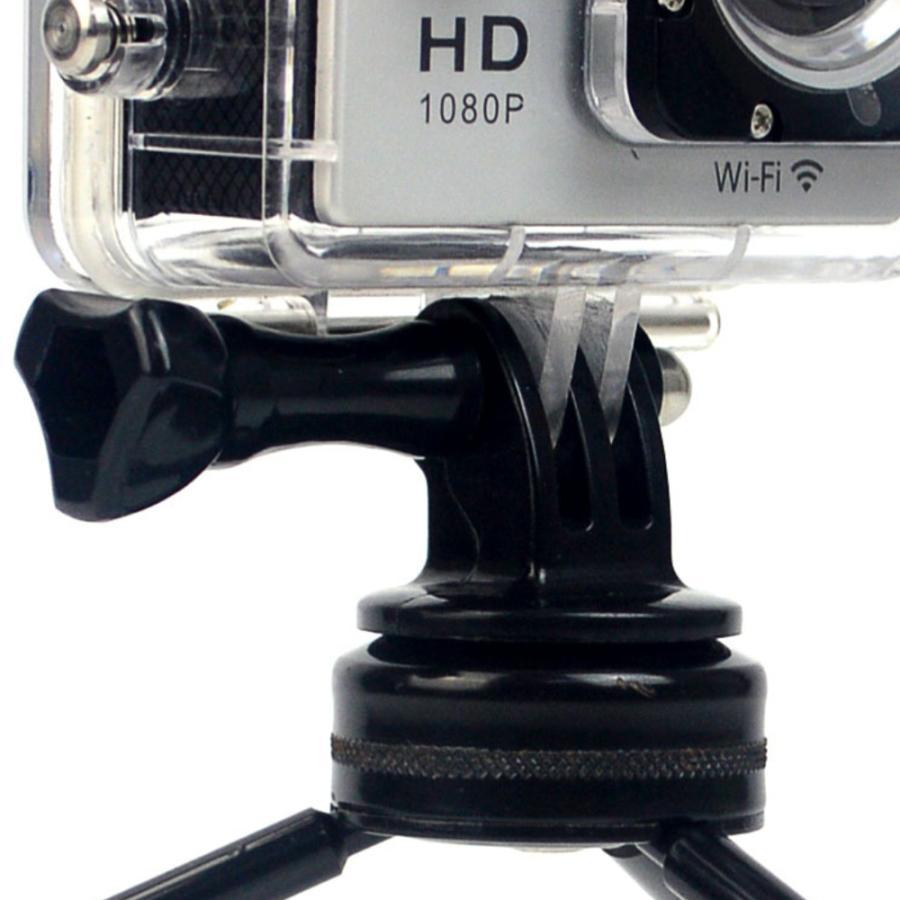 三脚 自撮り棒 アクセサリー GoPro 用 マウントアダプター 1/4 3/4インチネジ 対応 ゴープロ アクションカメラ カメラアダプタ sanesuline 03