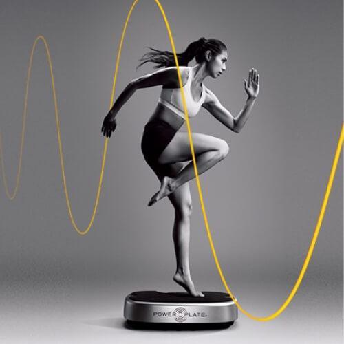 パワープレート Standard & Run Injury Free! Programme POWER PLATE トレーニングマシン ランナー向けプログラム付 プロティアジャパン正規品