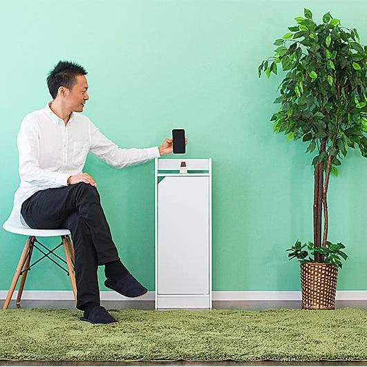電話台 モデムラック 小型 コンパクト 省スペース スリム モデム wifi ラック 収納|sangostyle|11