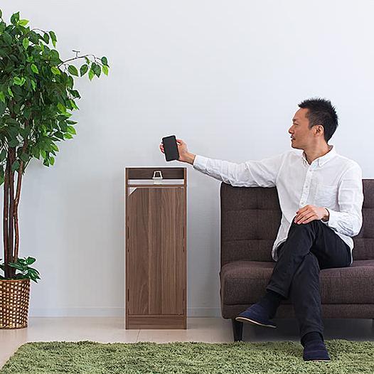 電話台 モデムラック 小型 コンパクト 省スペース スリム モデム wifi ラック 収納|sangostyle|12