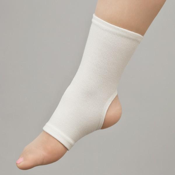 激安な 1枚 足首穴開きサポーター-介護用品