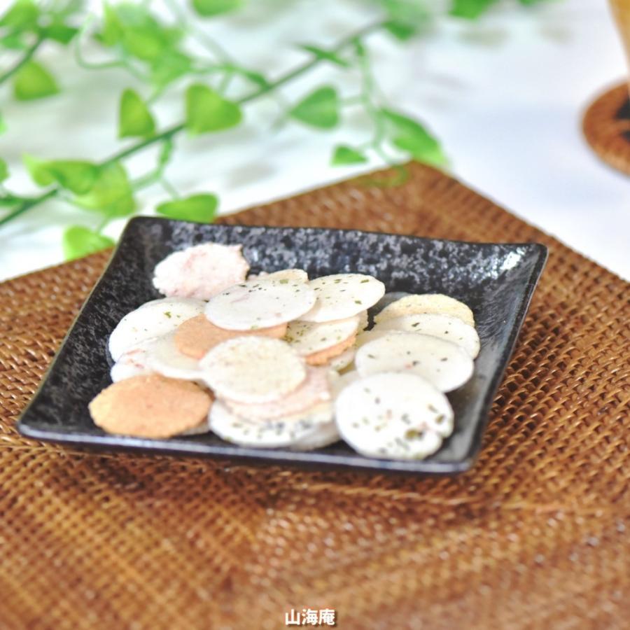 ノンフライミックス 180g(えびせん、ごま、かつお、お好み焼き味、満月の5種類)|sankaian