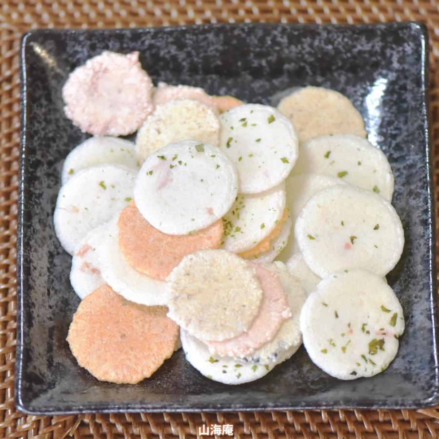 ノンフライミックス 180g(えびせん、ごま、かつお、お好み焼き味、満月の5種類)|sankaian|02